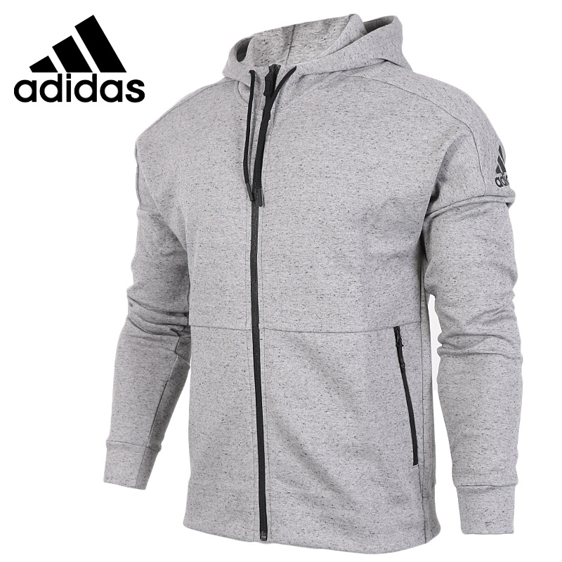 Original New Arrival  Adidas ID STADIUM CREW Men's jacket Hooded Sportswear