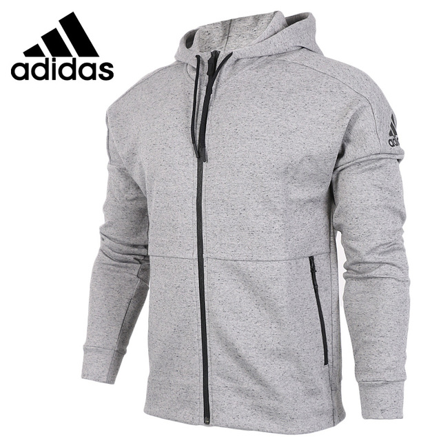 Original New Arrival Adidas ID STADIUM CREW Men s jacket Hooded Sportswear 4a5438070b