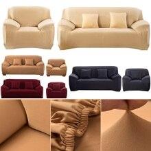 90-230 cm Flexible Stretch Sofa abdeckung Große Elastizität Couch abdeckung Voll sofa Maschine Waschbar Polyester fiber Funiture Abdeckung