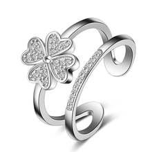 Новое поступление хит продаж модные блестящие кольца из стерлингового