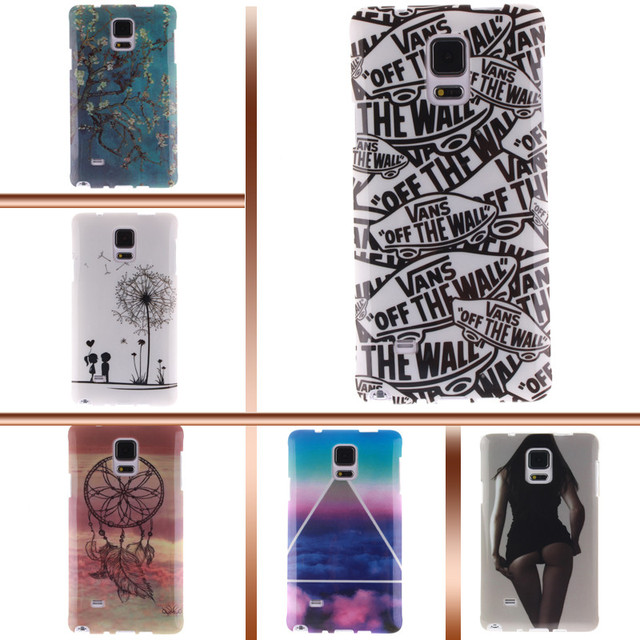 Painting IMD phone case TPU Soft Case for Samsung Galaxy NOTE 4 NOTE4 SM N910F N910V N910T SM-N910F SM-N910V SM-N910T SM-N910U