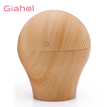 250ml USB Ultrasonic Cool Mist Humidifier Air Purifier Electric Aroma Diffuser Wood Aromatherapy Maker Office Home