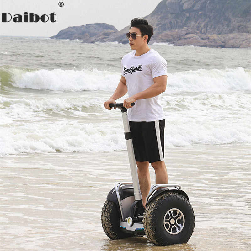 Daibot 2019 del Nuovo Potente scooter Elettrico A Due Ruote Doppio Conducente 60V 2400W Off Road Big Tire Adulti Hoverboard scooter