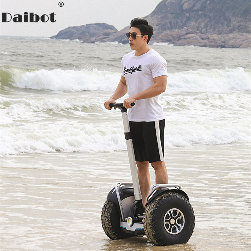 Daibot 2019 New Powerful Electric Scooter Two Wheels Double Driver 60V 2400W Off Road Big Tire Adults Hoverboard Scooter