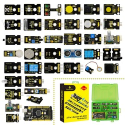 2019 NEW!Keyestudio New Sensor Starter Kit V2.0 37 in 1 Box With (Mega 2560 Board) for Arduino Kit