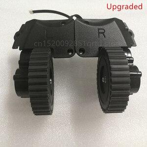 Image 2 - Po lewej stronie prawe koło dla odkurzacz robot ilife a4 a4s a40 X451 części do robota odkurzającego ilife a4 a4s koła obejmują koła silnik