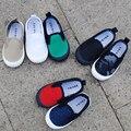 Primavera outono crianças lona sneaker shoes crianças meninos meninas escola lona tênis de marca tamanho 21-33 flat shoes 2016 sport shoes