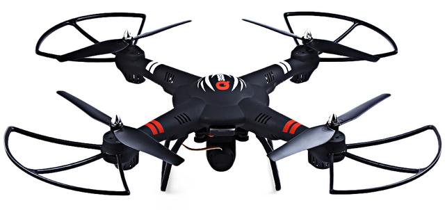 Neo q303 wltoys rc drone con cámara 2.4 ghz 4ch 6 axis gyro fijo-modo de altura quadcopter rtf aviones helicóptero de control remoto
