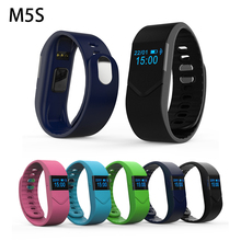 M5S Спорт SmartBand браслет Heart Rate Мониторы Фитнес трекер умный Браслет Bluetooth 4.0 смарт-браслет для IOS Android