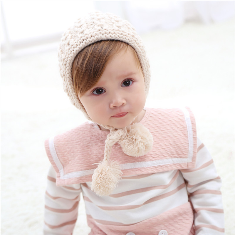 fe410e6db Bnaturalwell Baby Crochet Hat Pattern Toddler girls winter hat with ...