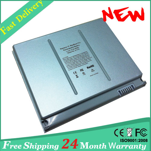 Freies verschiffen! Bateria notebook Laptop Akku Für Apple A1175 MacBook Pro 15...