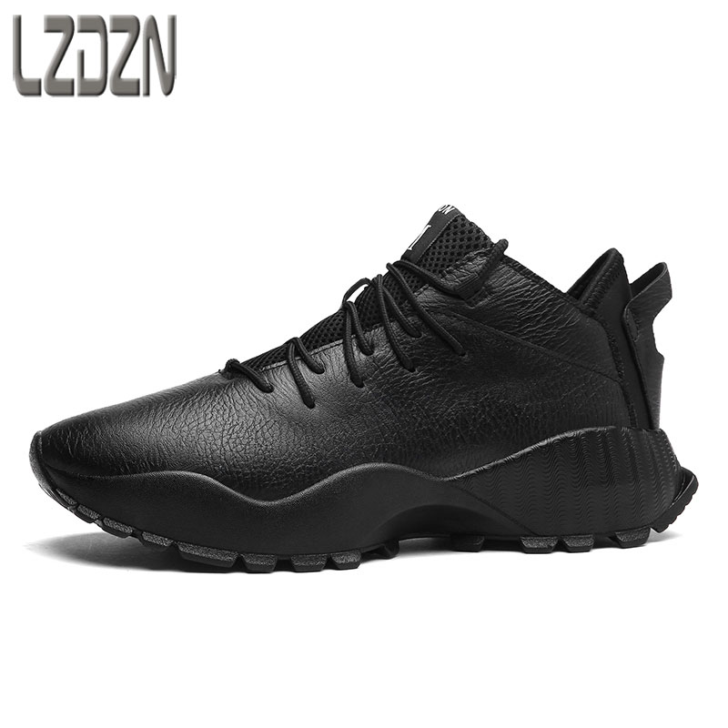 men shoes casual black shoes children Tourism  autumn winter British retro  breathable sneaker fashion boots men martin boots men s high boots korean shoes autumn winter british retro men shoes front zipper leather shoes breathable