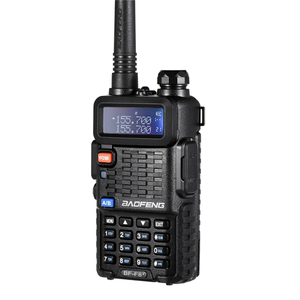 Image 2 - 100% 원래 BaoFeng F8 + 업 그레 이드 워키 토키 경찰 양방향 라디오 Pofung 듀얼 밴드 야외 장거리 VHF UHF 햄 트랜시버