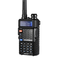 "band vhf uhf 100% מקוריים Baofeng F8 + שדרוג שני שוטרי Talkie Walkie Way רדיו Pofung Dual Band החיצוני Long Range VHF UHF Ham מקמ""ש (2)"