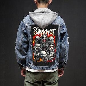 Image 1 - Blood hoof vestes et manteaux pour hommes en jean, Jeans, Jeans, Jeans, Jeans, Jeans, magasin, Rock And Roll Death