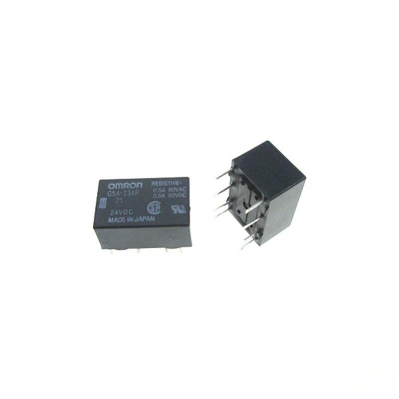 Relé G5A-234P 24VDC G5A-234P-24VDC G5A234P 24VDC DC24V 24V 8PIN