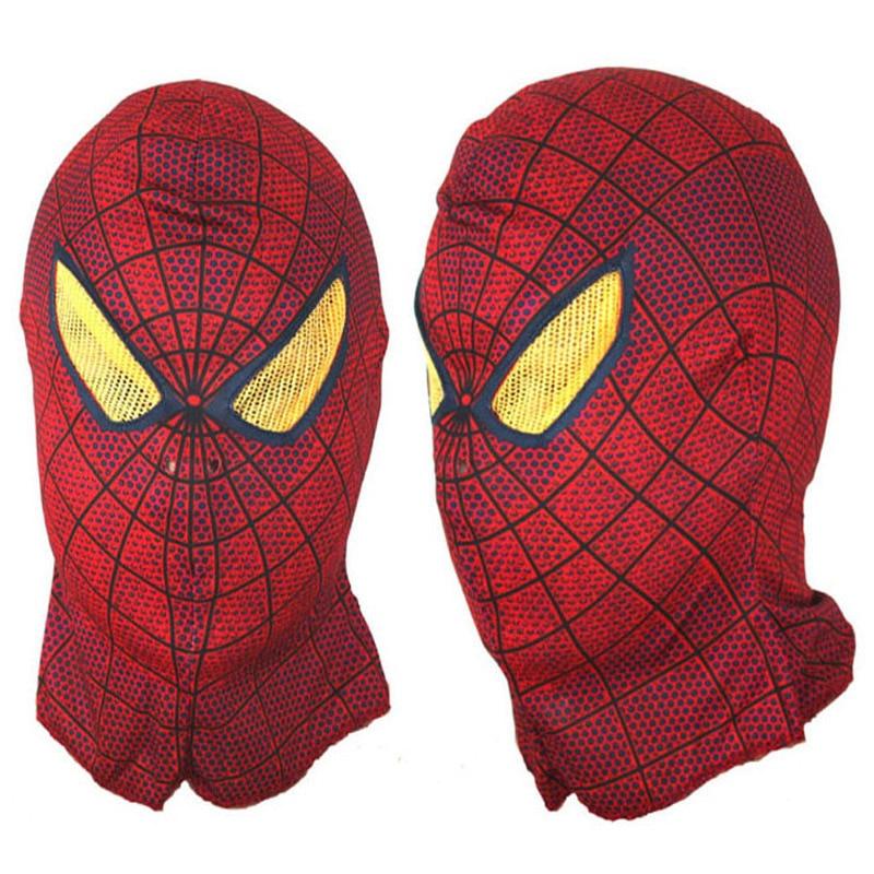 <font><b>Adult</b></font> <font><b>Spider-Man</b></font> <font><b>Spider</b></font> <font><b>Man</b></font> Face <font><b>mask</b></font> <font><b>Spiderman</b></font> <font><b>hood</b></font> For Halloween Party