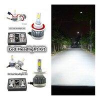 2X H7 12v Car Upgrade Conversion Bulbs Kit White Fog Light H1 H3 H4 H7 H8