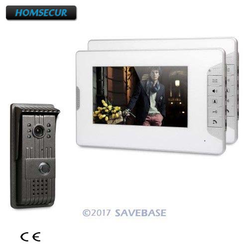 HOMSECUR 7 Hands-free Video Door Phone Intercom System with User-friendly Design of Mute Mode 1V2 Kit кальсоны user кальсоны