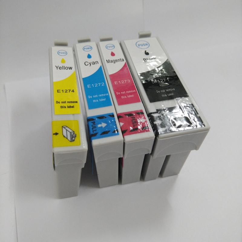 For Epson T1271 Ink Cartridge for Epson WorkForce 3520 645 630 633 635 840 845 NX430 NX330 NX625 WF 7520 WF 7010 WF 7510 T1271 in Ink Cartridges from Computer Office