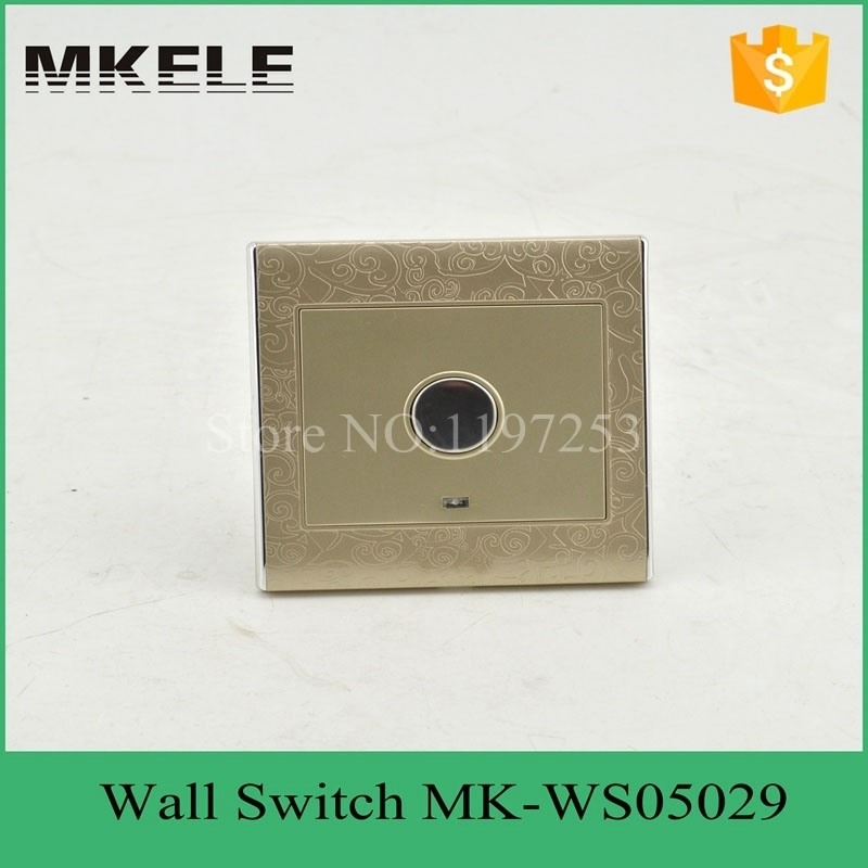 MK-WS05029 smart touch delay light wall switch,automatic turn off light sensor switch for Corridor induction control new dc5v 12v 24v sound sensor light control relay switch time delay turn off module g205m best quality