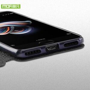 Image 5 - Mofi For Xiaomi Mi Note 3 case For Xiaomi Mi Note 3 Pro case cover silicon luxury flip leather original For Xiaomi Mi Note3 case