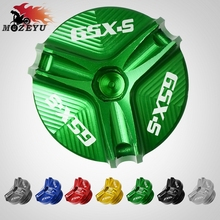 For Suzuki GSXS 125 150 GSX-S1000/F/ABS M20*2.5 Motorcycle CNC Aluminum Accessories Engine Oil Tank Cap Filler