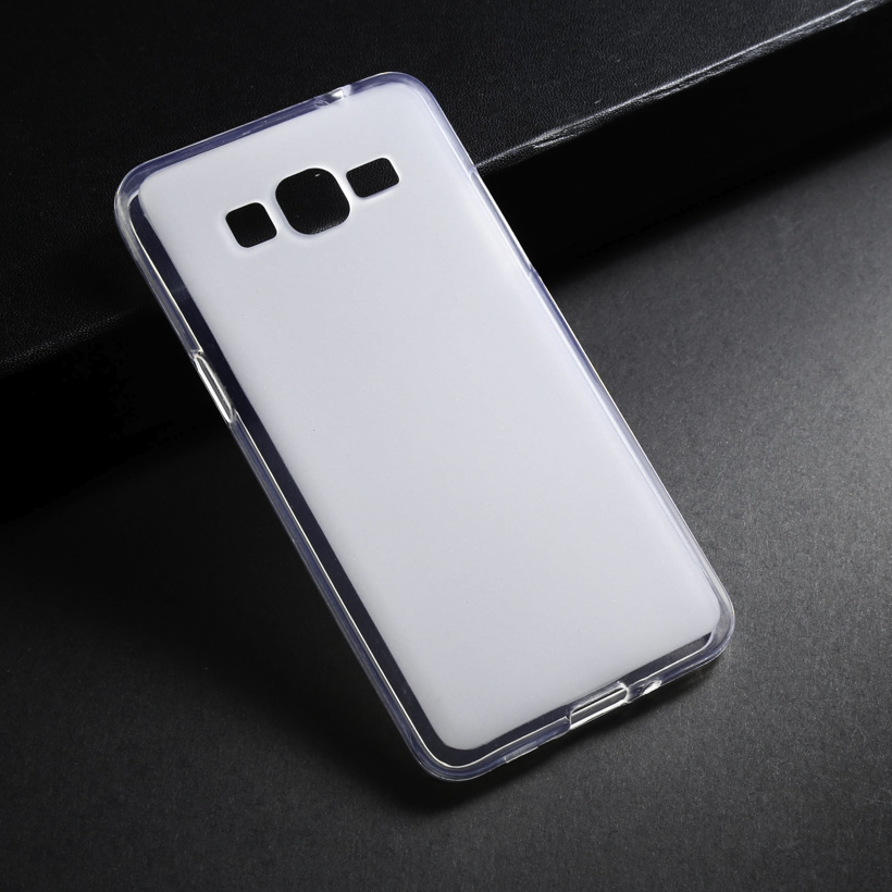 Cases For Samsung Galaxy Grand Prime G5308 G530 Galaxy Alpha G850 TPU Silicon Soft Case Back Cover For Phone Case White Shell