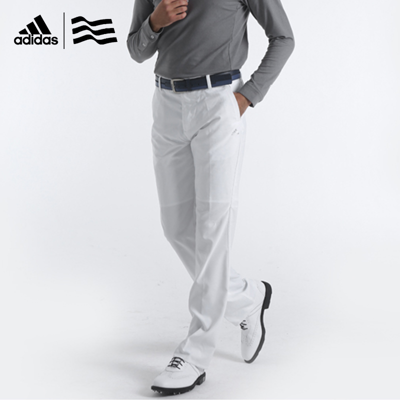 8ba54deb0382 Adidas Men s Golf Trousers Light weight Smooth Skin touch Wrinkle  Prolection NEW-in Golf Pants from Sports   Entertainment on Aliexpress.com