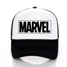 MARVEL letter Baseball Caps Summer Leisure Adjustable Hats Mesh trucker hat Fashion men women cap