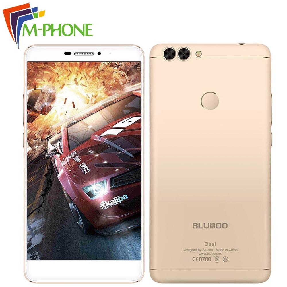Original BLUBOO Dual Mobile Phone 5 5 inch 4G Android 6 0 MTK67637T Quad Core 2GB