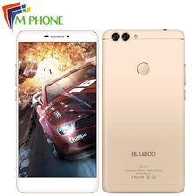 Оригинальный bluboo двойной мобильный телефон 5.5 дюймов 4 г Android 6.0 MTK67637T Quad Core 2 ГБ Оперативная память 16 ГБ Встроенная память Смартфон 13.0MP двойной Камера