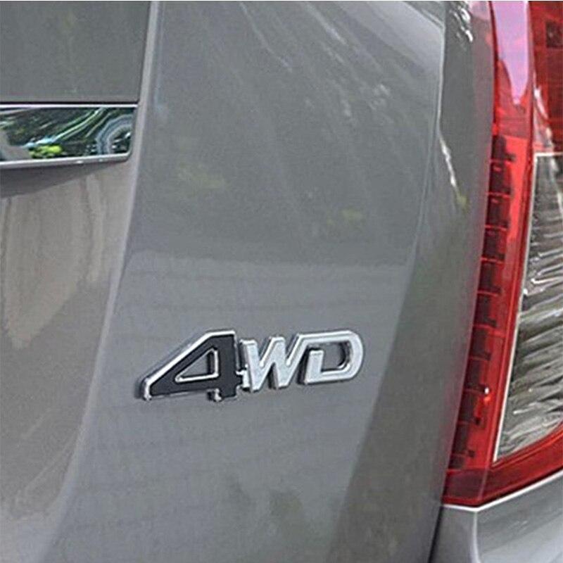 3D 4WD 4x4 Metal Sticker For Buick Alfa Romeo 159 147 156 Nissan Qashqai J11 Juke Tiida Almera X-Trail T32 T31 Note Accessories
