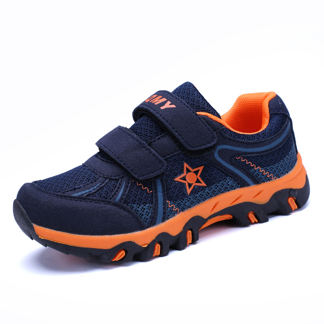 6548fd11e6510c 2018 Summer New Kids Hiking Shoes Mesh Breathable Children s Outdoor Sport Walking  Shoe Boys Sneakers Travel Shoes Anti Slippery