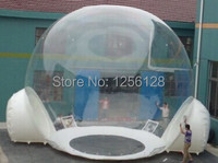 Hot Wonderful 2 4 Persons Inflatable Lawn Tents With Clear Wall Around