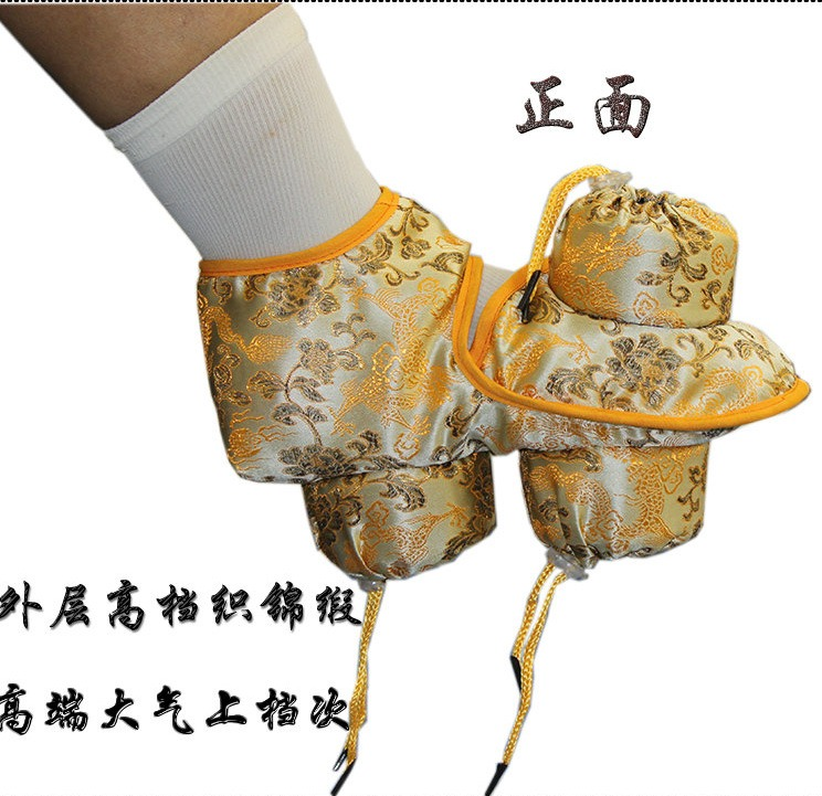 Foot Moxa Moxibustion Moxibust Bag Copper Box Massager Warming Massage Therapy Treatment For Neck Leg Arm Abdomen Body Care electric antistress therapy rollers shiatsu kneading foot legs arms massager vibrator foot massage machine foot care device hot