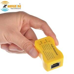 Image 2 - Detektor PoE PoE szybko identyfikuje zasilanie przez Ethernet z RJ45 wskazuje pasywny/802.3af/at; 24 v/48 v/56 v używany do wtryskiwacz PoE