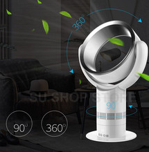 35w power bladeless fan 8000r/min wind capacity 620L/S with remote controller timing function No Leaf Fan AIR COOLER