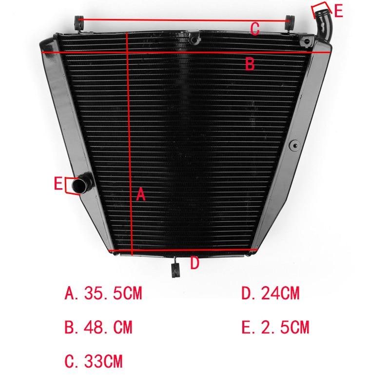 For Honda CBR1000RR 2006 2007 CBR 1000 RR Motor Cooler Parts Accessories Black Cooling Motorcycle Aluminum