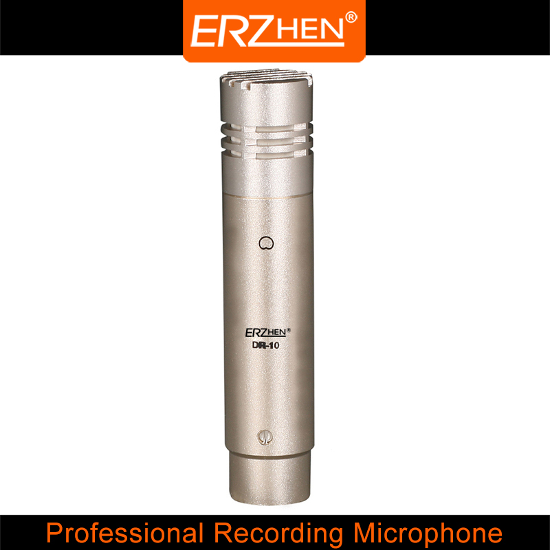 DR-10 High Quality Professional Condenser Sound Recording Microphone with Shock Mount for Radio Braodcasting Singing Black  3 5mm jack audio condenser microphone mic studio sound recording wired microfone with stand for radio braodcasting singing