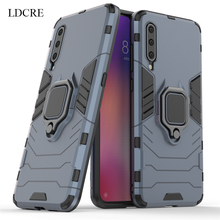 For Xiaomi Mi 9 Case Magnetic Finger Ring Kickstand Hard Phone Cover Fundas 6.39