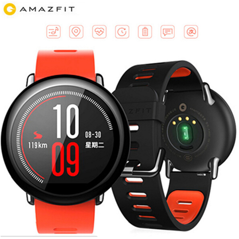 in stock Original Xiaomi Huami Amazfit Sport Watch Real time GPS Heart Rate Monitor Pulse Bluetooth 4.0+ Wi-Fi Smart Watches
