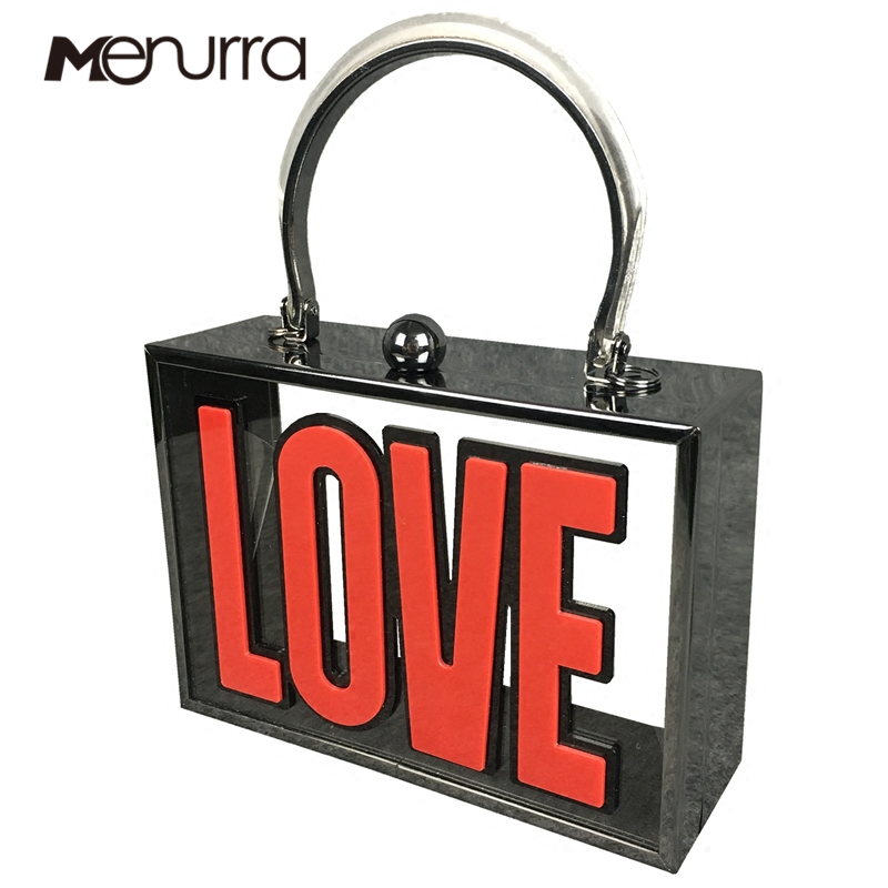 Detail Feedback Questions about LOVE Letters Women Evening Clutch Bag Clear  Transparent Acrylic Chain Shoulder Handbags Crossbody Wedding Party Prom  Purse ... 74ba08fdf402