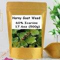 Horny Goat Weed (Epimedium) Polvo de Extracto 60% Icariins 500 gram envío libre