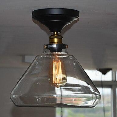 Loft Rétro Style Edison Ampoule Cru Lampe Industrielle Plafonnier