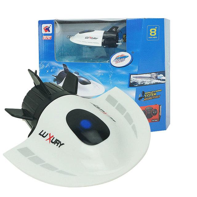 Velocidad de radio barco eléctrico del rc mini submarino turístico crear toys 3314 27 mhz radio submarino barco de regatas barco de control remoto