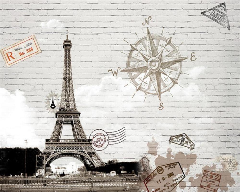 Paris Wallpaper For Bedroom Online Buy Wholesale Paris Tower Bedroom Wallpaper From China