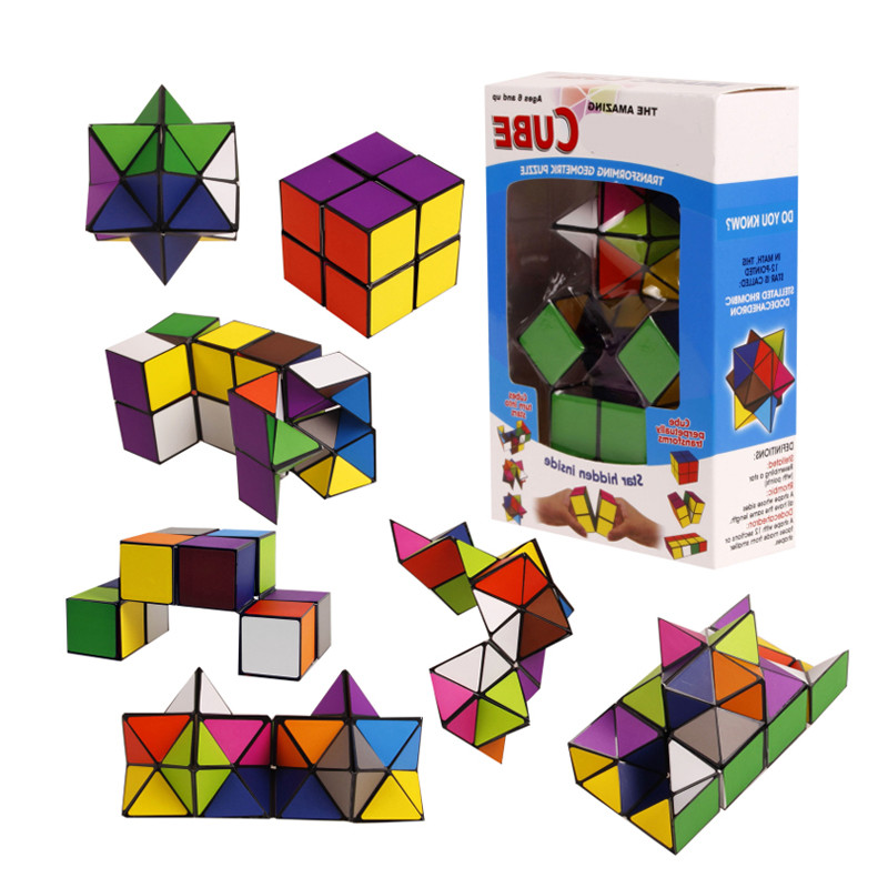 New Arrival Hot Sales Toys Infinity Cube Popular Spot Items Unlimited Square Cube Star Infinite Cube Decompression Cube Toys