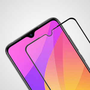 Image 2 - Xiaomi CC9E CC 9E Mi9 Lite 용 강화 유리 xiaomi Mi 9 Lite 유리 용 nillkin cp + pro 2.5d 풀 접착제 필름