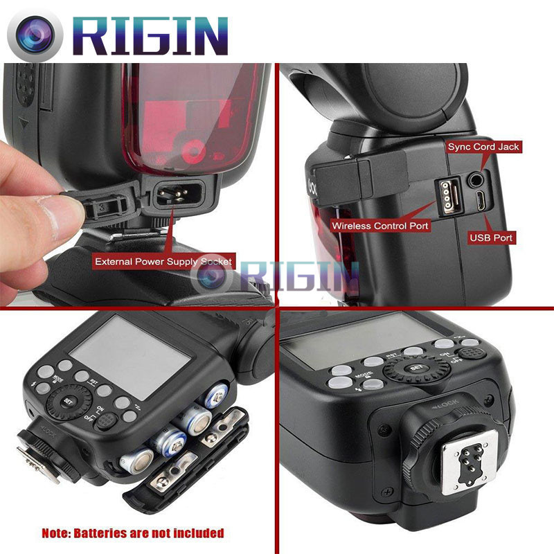 Godox TT685C камера Flash 2.4 ГГц сымсыз - Камера және фотосурет - фото 5